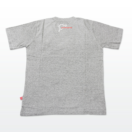 "Men´s T-Shirt ""track data"" : gray/Details:2"