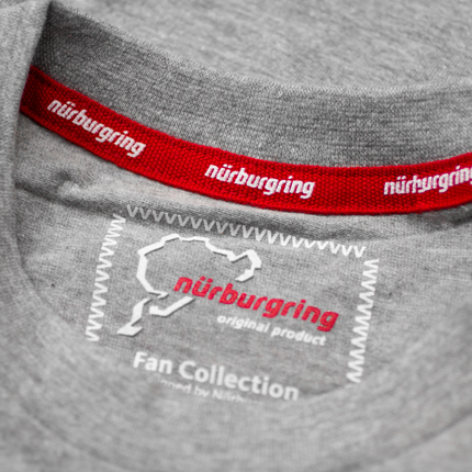 Fan T-Shirt Logo: Grey/Details:3