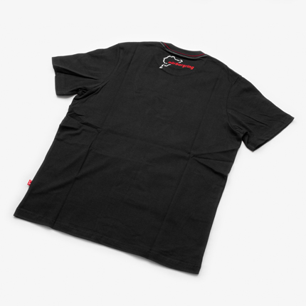 "Fan T-Shirt ""Nordschleife"" : Black/Details:2"