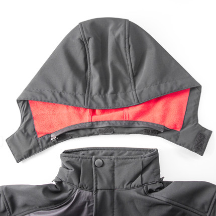 Material-Mix Jacket/Details:8