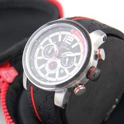 Nurburgring Sports Chronograph : red/Details:3