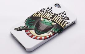 iPhone 4/4Sカバー : グリーンヘル